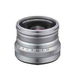 FujiFilm Fujinon XF 16mm F2.8 R WR Prime Objectif - Argent