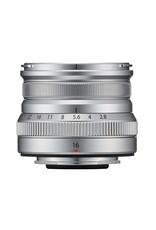 FujiFilm Fujinon XF 16mm F2.8 R WR Prime Lens - Silver