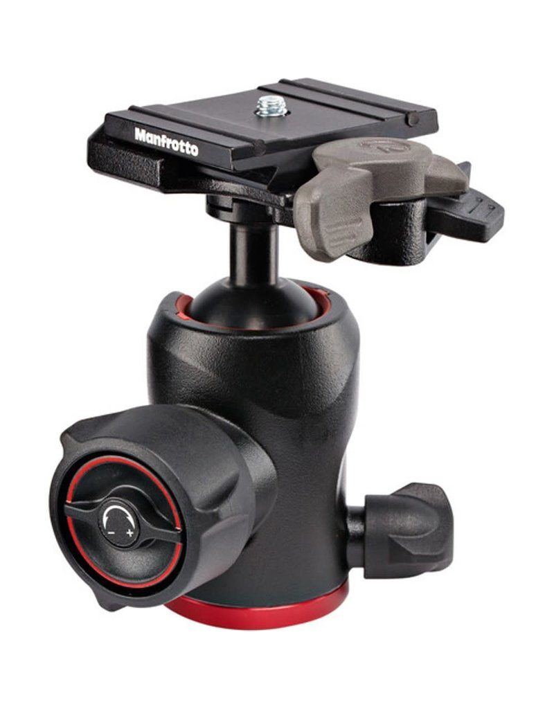 Manfrotto 494 Aluminum Center Ball Head with 200PL-PRO Quick Release Plate