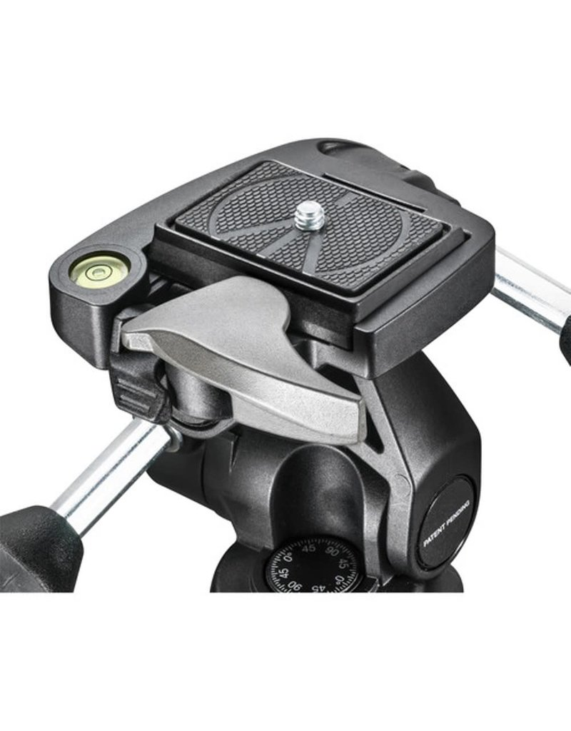 Manfrotto  3-Way Pan/Tilt Head with RC2 Quick Release Plate