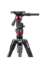 Manfrotto  MVKBFRT Live Aluminum Video Tripod Kit with Twist Leg Locks