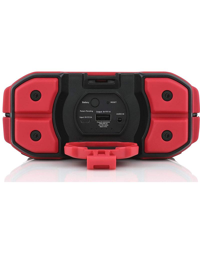Braven  BRV-1M Series Waterproof Bluetooth Speaker, red
