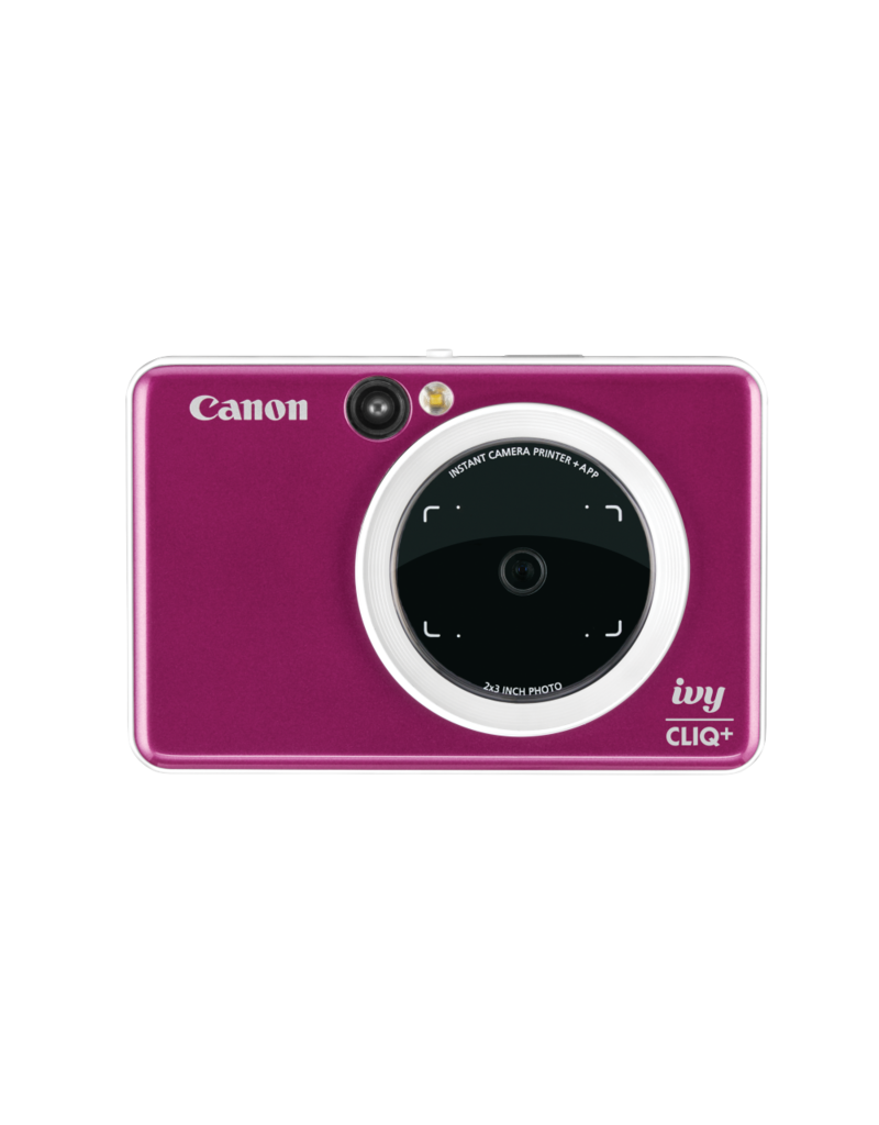 Canon IVY CLIQ+ Instant Camera Printer - Ruby Red