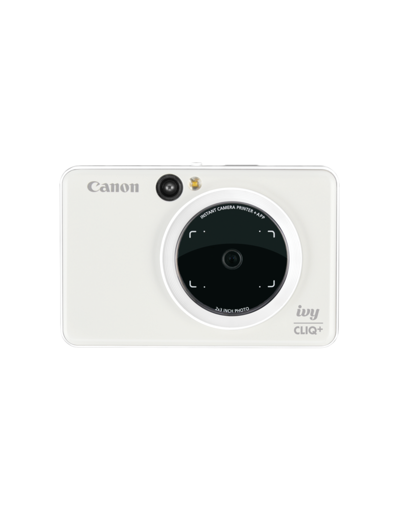 Canon IVY CLIQ+ Instant Camera Printer - Pearl White