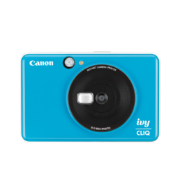 Canon IVY CLIQ Appareil photo à développement instantané - Bleu mer