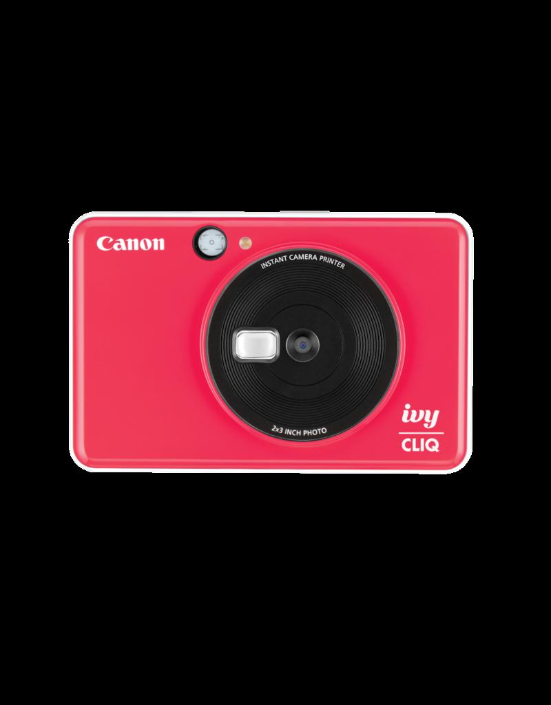 Canon IVY CLIQ Appareil photo à développement instantané- Rouge coccinelle