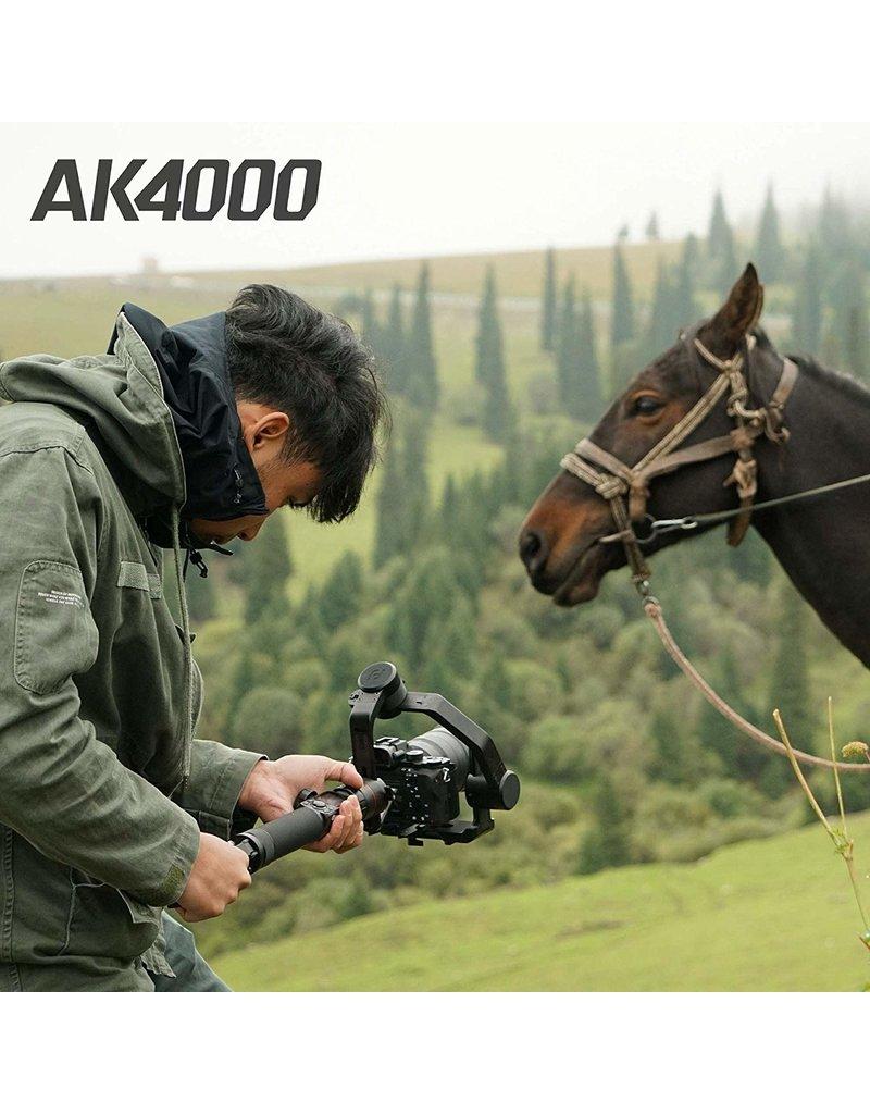 Feiyu Tech AK4000 Stabilisateur 3 axes pour appareil photo DSLR