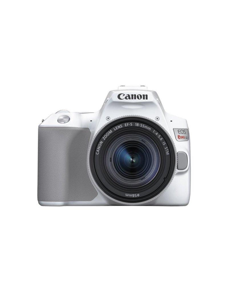 Canon EOS Rebel SL3 DSLR Appareil photo avec 18-55mm Objectif - Blanc