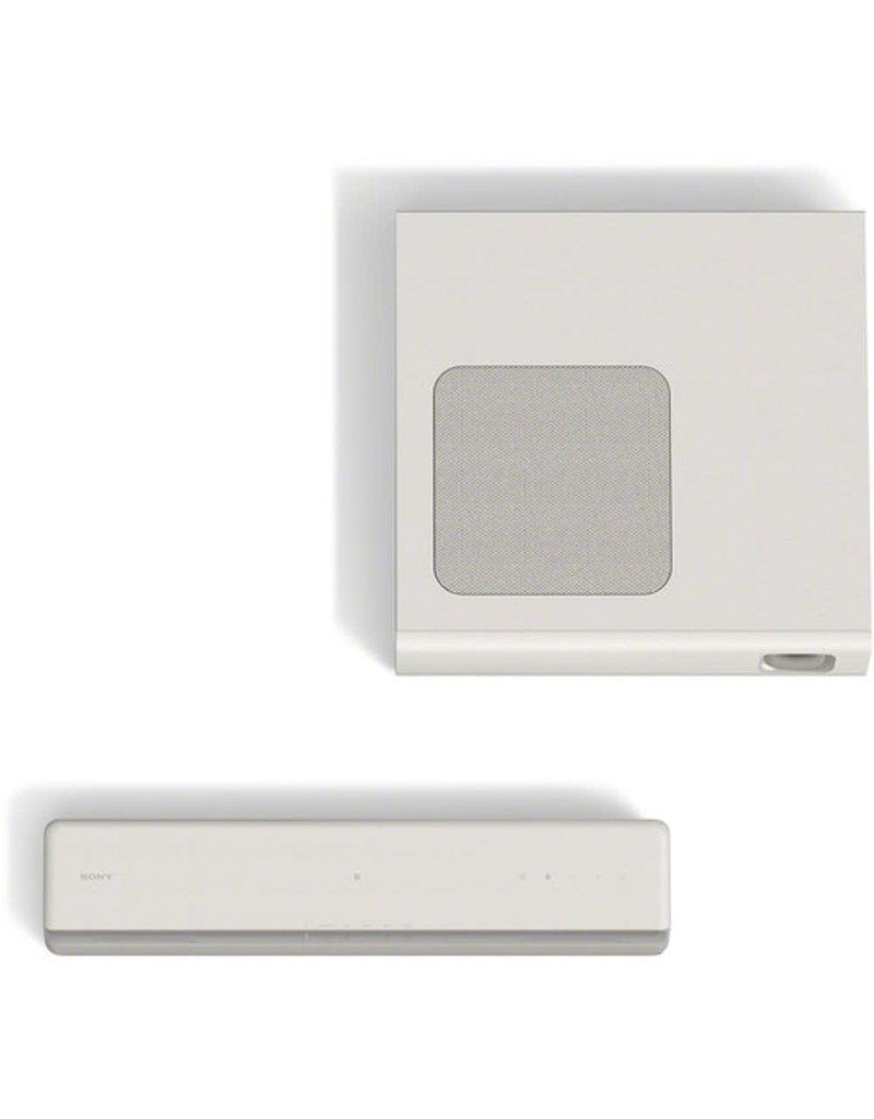 Sony HT-MT300 Barre de son compacte 2.1 canaux avec technologie Bluetooth-Blanc