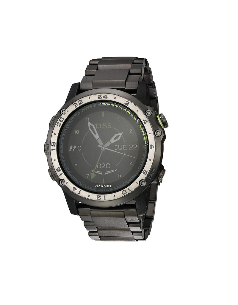 Garmin Garmin D2 Charlie GPS Aviation Horloge, Édition Titane
