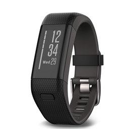 Garmin Garmin Vivosmart HR+ GPS Activity Tracker - Black