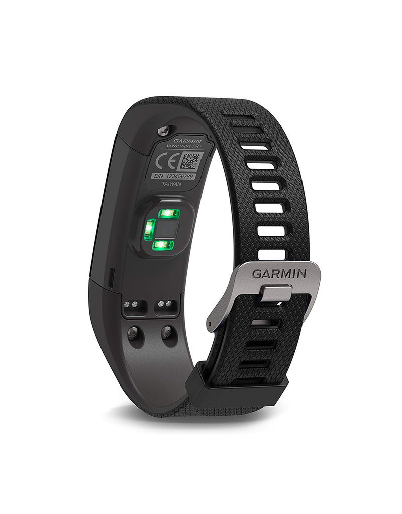 Garmin Garmin Vivosmart HR+ GPS Activity Tracker - Black