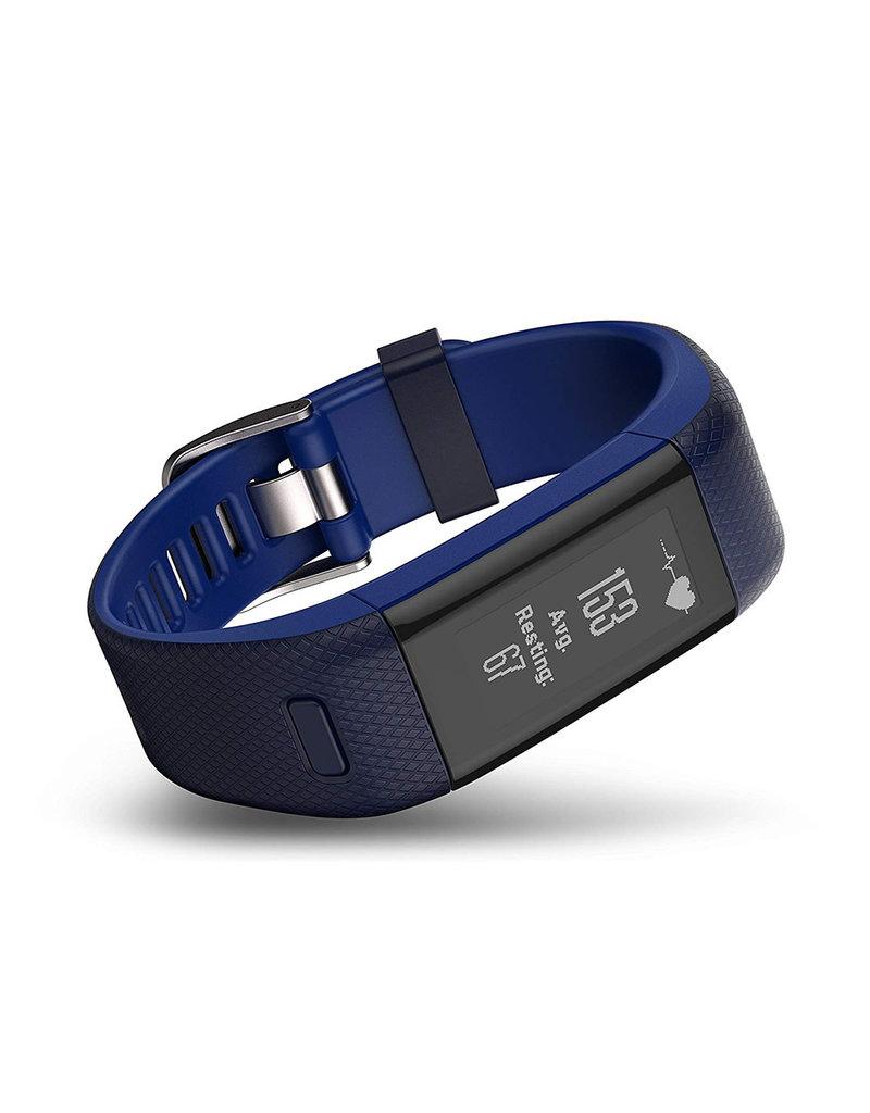 Garmin Garmin Vivosmart HR+ GPS Tracker d'activité - Bleu- Regulier