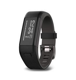 Garmin Garmin Vivosmart HR+ GPS Activity Tracker - Black - XL