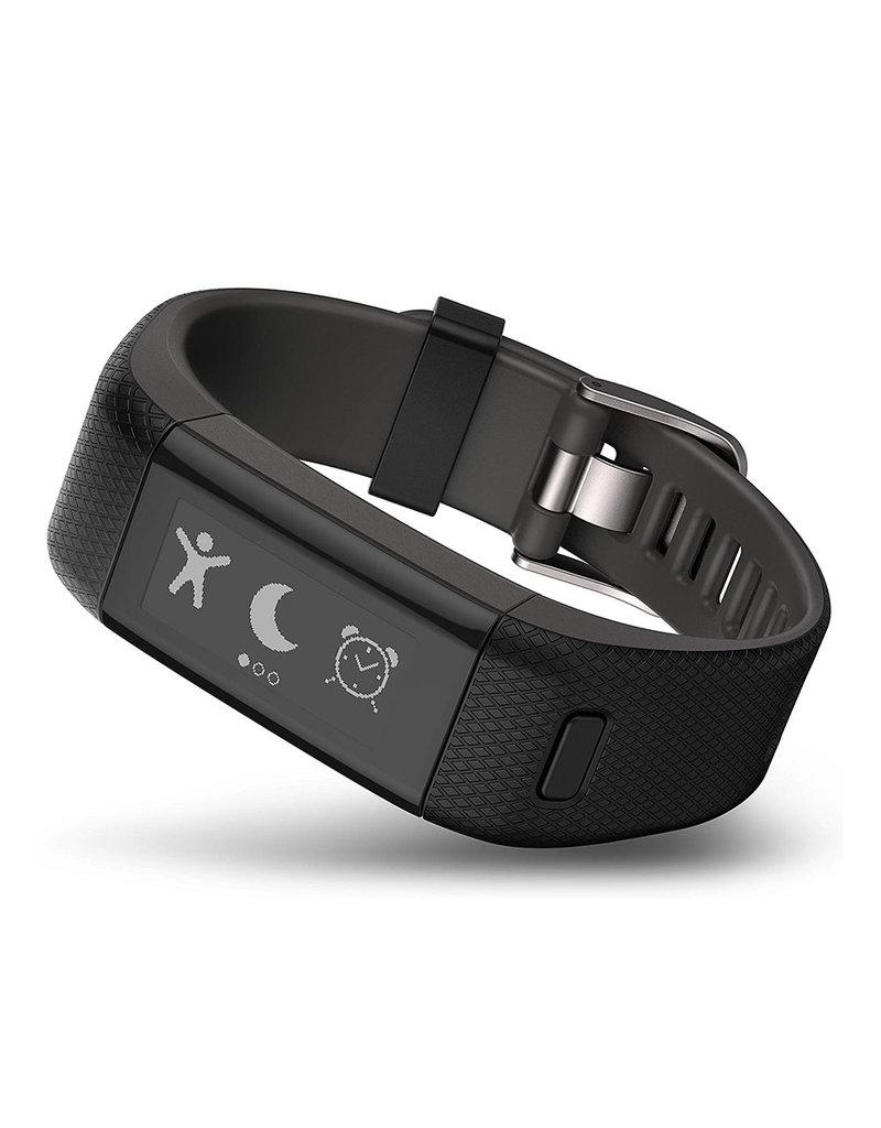 Garmin Garmin Vivosmart HR+ GPS Tracker d'activité - Noir- XL