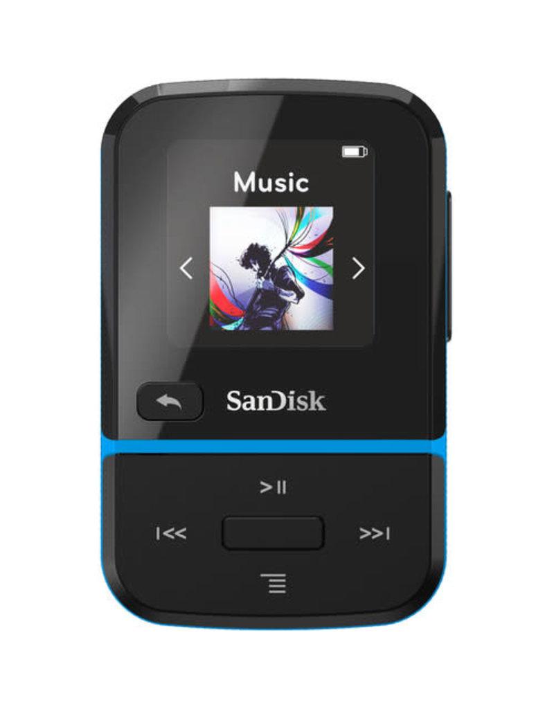 SanDisk SanDisk 16GB Clip Sport Go MP3 Player - Blue