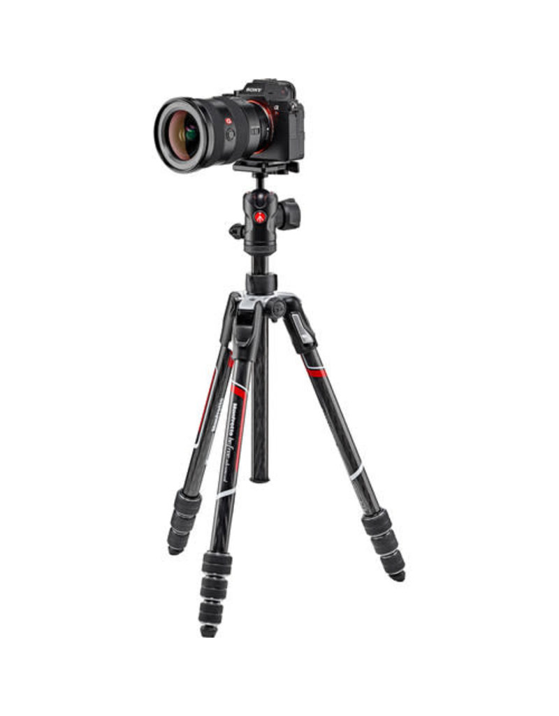 Manfrotto Manfrotto MKBFRTC4-BH Befree Advanced Carbon Fiber Travel Tripod with 494 Ball Head (Twist Locks, Black)