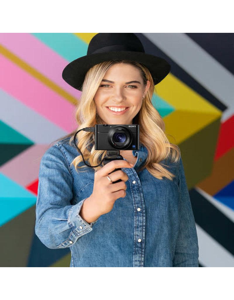 Sony Copy of Sony DSC-RX100 III Cyber-shot - Digital camera - compact - 20.1 MP - 1080p - 2.9x optical zoom - Carl Zeiss - Wi-Fi, NFC - black