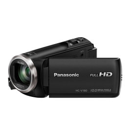 Panasonic HC-V180K Full HD Camcorder (Black)