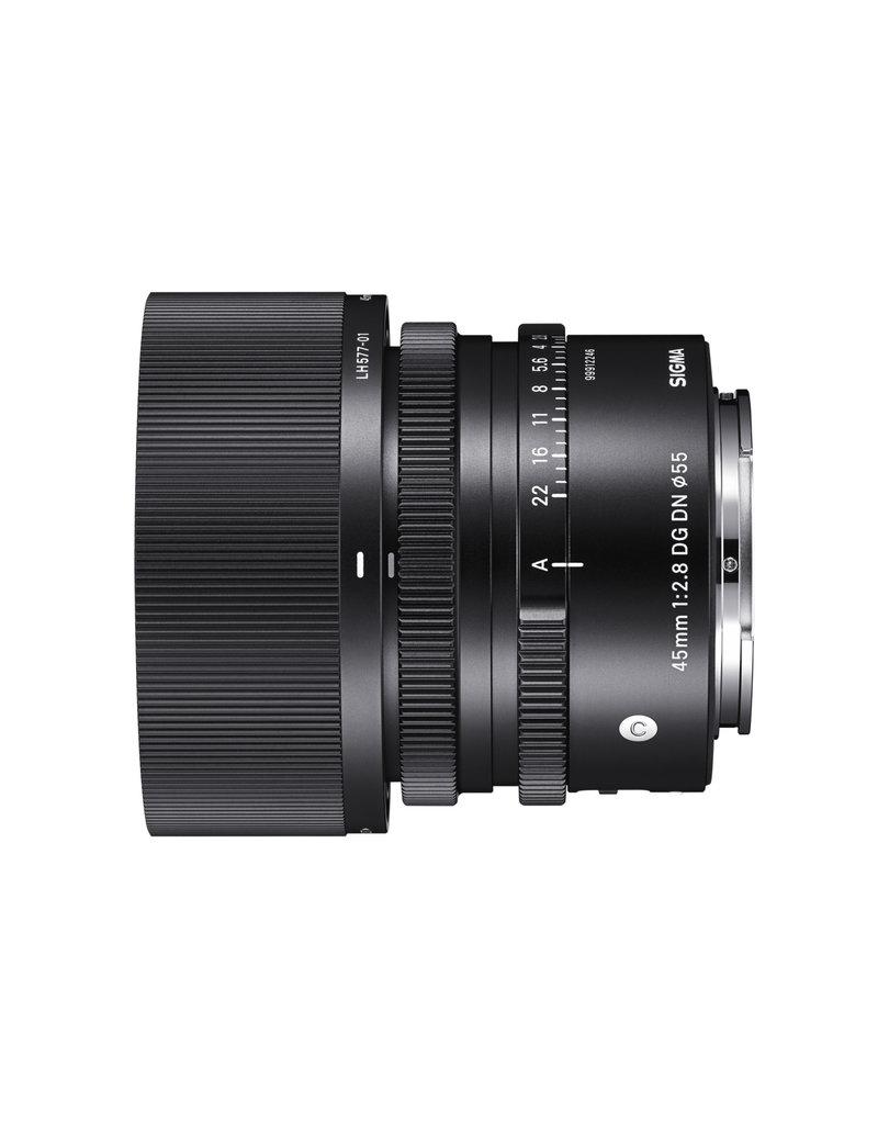 Sigma 45mm F2.8 DG DN Contemporary Lens for Sony E-Mount
