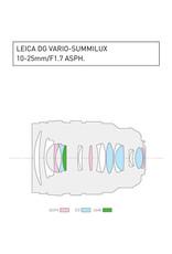 Panasonic Lumix G Leica DG Vario-Summilux 10-25mm, F1.7 ASPH. Lens for micro four thirds