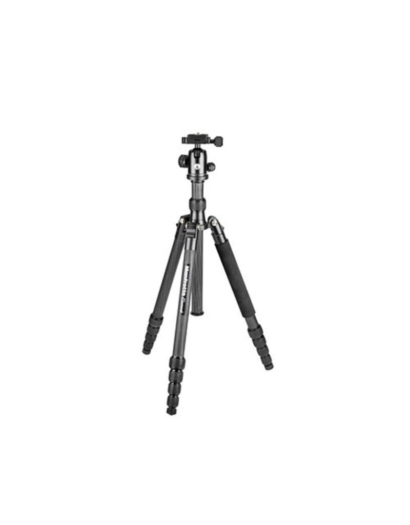 Manfrotto Manfrotto Element Traveller Carbon Fiber Tripod & Ball Head, Large 64.6""