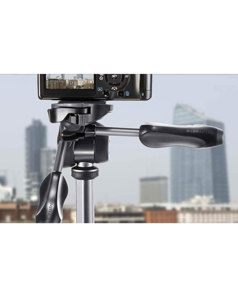 Manfrotto Manfrotto MKCOMPACTADV-BK Compact Advanced Tripod with 3-Way Head