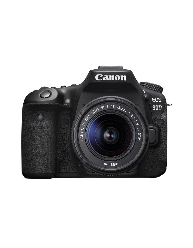 Canon EOS 90D  DSLR Camera with 18-55 IS STM Lens