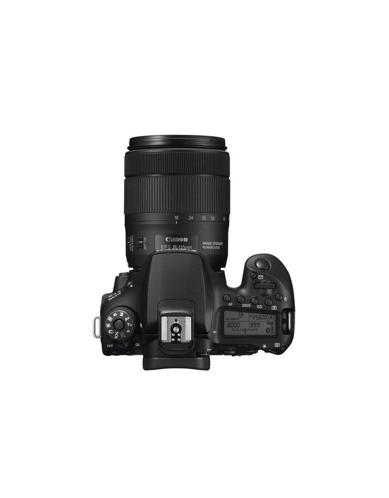 Canon EOS 90D DSLR Camera 18-135 IS USM Lens