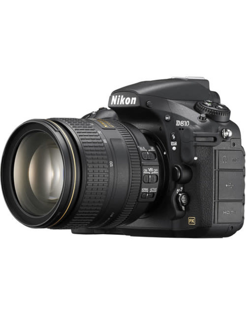 Nikon Nikon D810 FX-Series DSLR Camera with 24-120mm VR Lens
