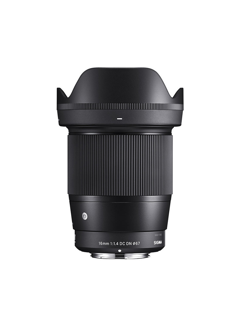 Sigma Sigma 16mm F1.4mm DC DN Contemporary Lens for Canon EF-M Mount