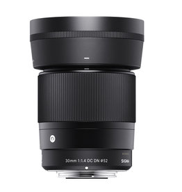 Sigma Sigma 30mm f1.4 DC DN Contemporary Lens for Canon EF-M Mount