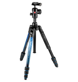Manfrotto befree Advanced Travel Aluminum Tripod with 494 Ball Head - Blue