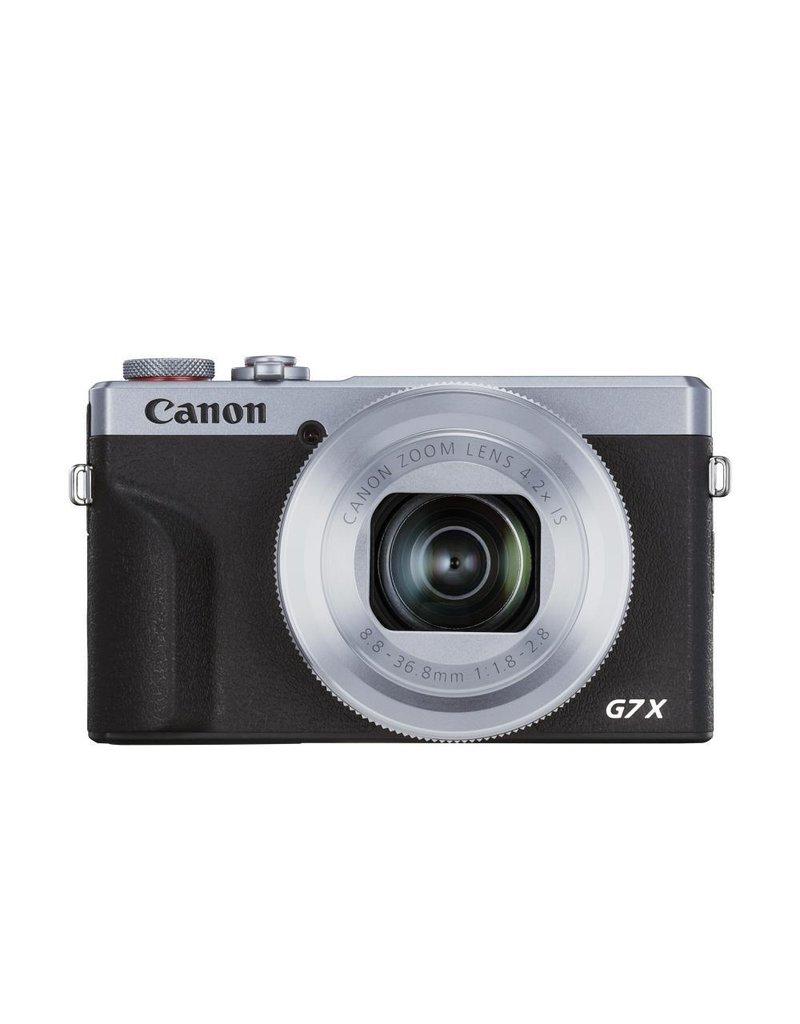 Canon Canon PowerShot G7 X Mark III Digital Camera - Silver