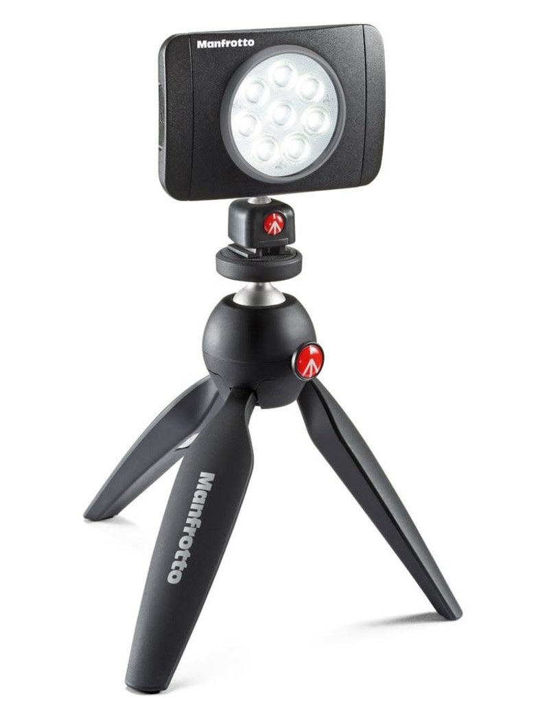 Manfrotto Manfrotto MLUMIEARTB Lumie Art 6-Light LED with Hot Shoe Mount and Filters