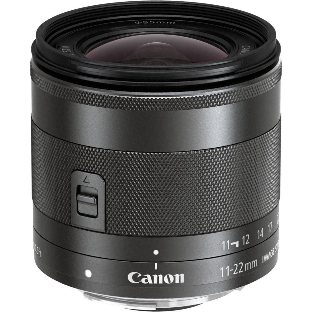 Canon EF-M 11-22mm f/4-5.6 IS STM Objectif