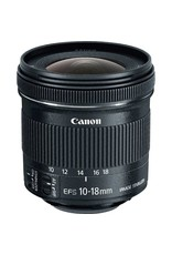 Canon EF-S 10-18mm f/4.5-5.6 IS STM Objectif