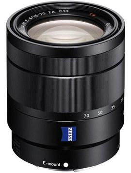 Sony SEL1670Z  Zoom objectif - 16 mm - 70 mm - f/4.0 ZA OSS  Sony E-mount
