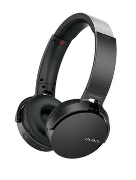 Sony MDR-XB650BT  headphones with mic, XB Series  full size - wireless - Bluetooth - NFC - black