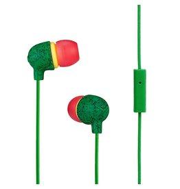 House of Marley EM-JE061-RA Rasta Little Bird Earbuds