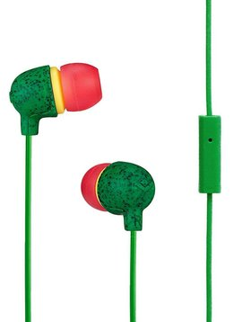House of Marley House of Marley EM-JE061-RA Rasta Little Bird Earbuds