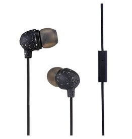 House of Marley EM-JE061-BK Black Little Bird Earbuds