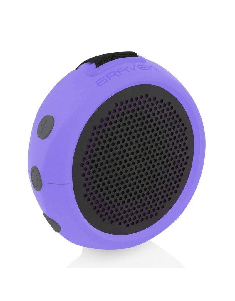 Braven B105PGG 105 Series Portable Waterproof Bluetooth Speaker, Periwinkle