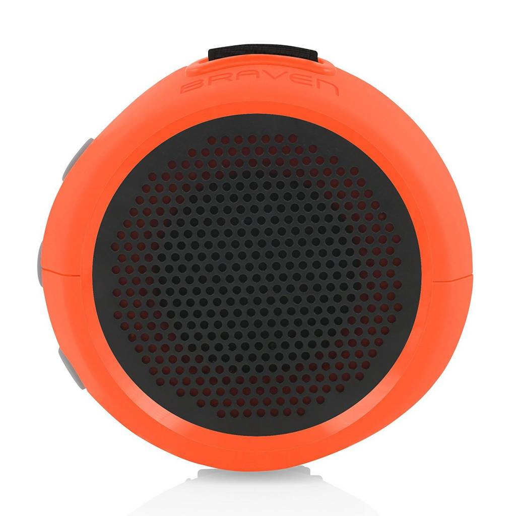 Braven B105OGG 105 Series Portable Waterproof Bluetooth Speaker, Sunset