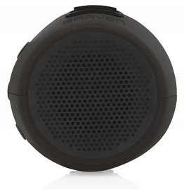 Braven B105BBB 105 Series Portable Waterproof Bluetooth Speaker, Black