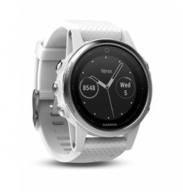 Garmin Fenix 5S Carrara White Band Regular Glass