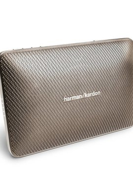 Harman Kardon HKESQUIRE2GLD Esquire2 Portable Bluetooth Speaker and Conferencing System, Gold