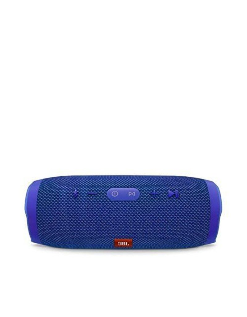 JBL Charge 3 Waterproof Portable Bluetooth Speaker (Blue)