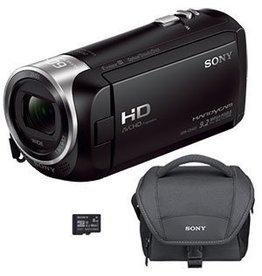 Sony Handycam CX405 Caméscope  avec capteur CMOS Exmor R kit-Noir