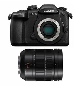 Panasonic LUMIX GH5L 4K Mirrorless Camera with LUMIX G LEICA DG 12-60mm F2.8-4.0 Lens